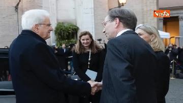 11 - Il presidente Mattarella partecipa alla cerimonia per ricorrenza della firma dei Patti Lateranensi