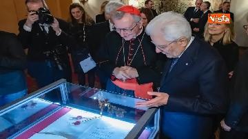 7 - Il presidente Mattarella partecipa alla cerimonia per ricorrenza della firma dei Patti Lateranensi