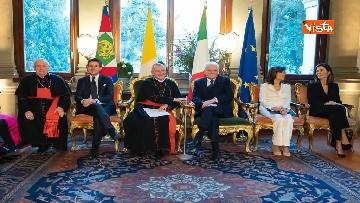 9 - Il presidente Mattarella partecipa alla cerimonia per ricorrenza della firma dei Patti Lateranensi
