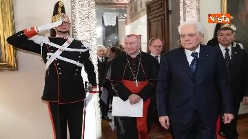 14 - Il presidente Mattarella partecipa alla cerimonia per ricorrenza della firma dei Patti Lateranensi