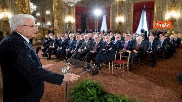 5 - Mattarella riceve Atalanta e Lazio, finaliste Coppa Italia