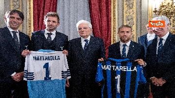 8 - Mattarella riceve Atalanta e Lazio, finaliste Coppa Italia