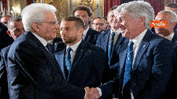 3 - Mattarella riceve Atalanta e Lazio, finaliste Coppa Italia