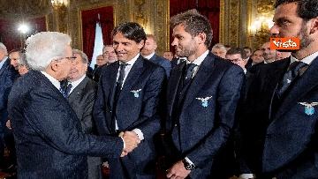 4 - Mattarella riceve Atalanta e Lazio, finaliste Coppa Italia