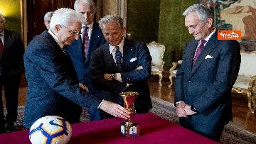 2 - Mattarella riceve Atalanta e Lazio, finaliste Coppa Italia