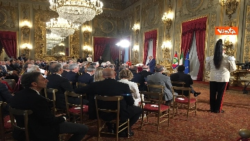 1 - Cerimonia del Ventaglio con Mattarella al Quirinale immagini