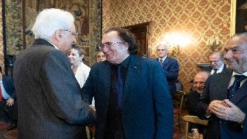 7 - Mattarella incontra una Delegazione della Lega Italiana per la lotta contro i tumori
