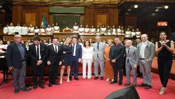 4 - L'unicità di Napoli a Palazzo Madama per Senato e Cultura