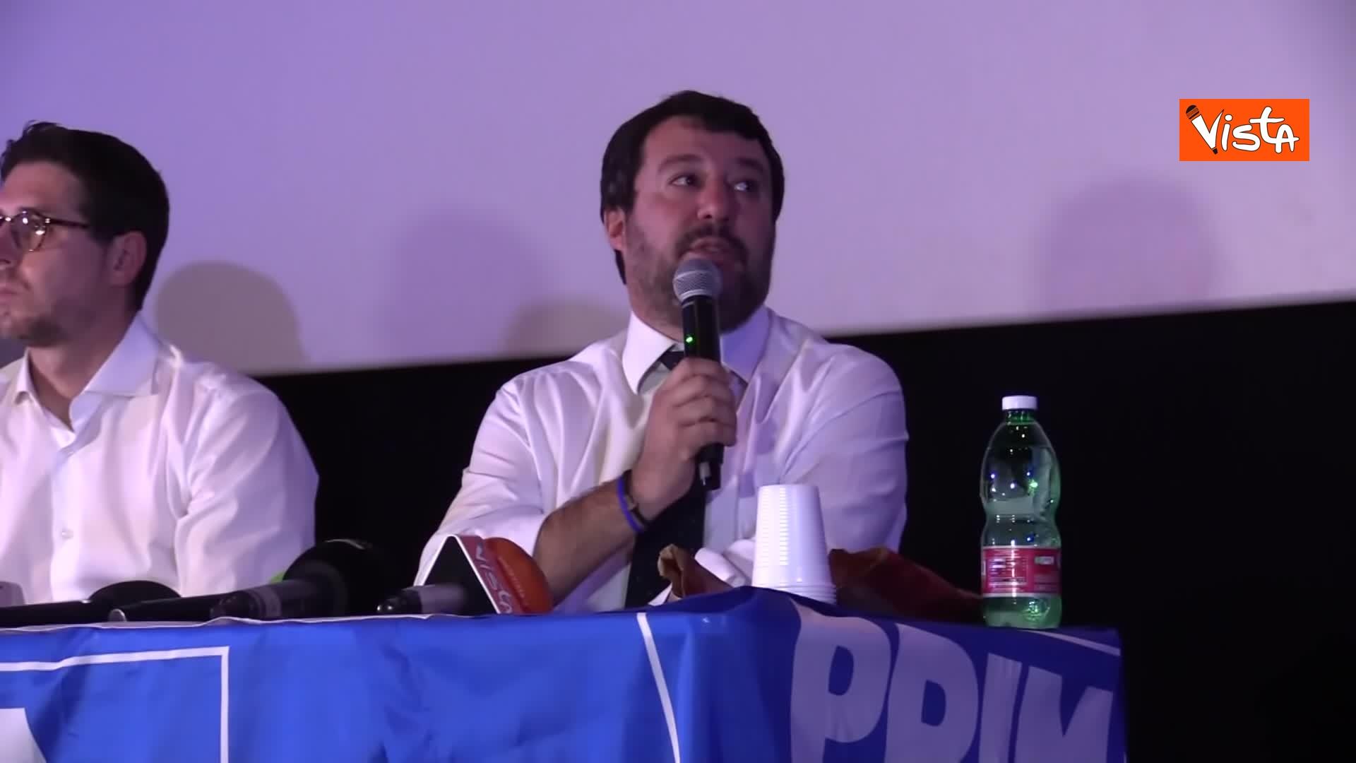 05-11-19 Salvini presenta la campagna elettorale in Campania, le immagini_05