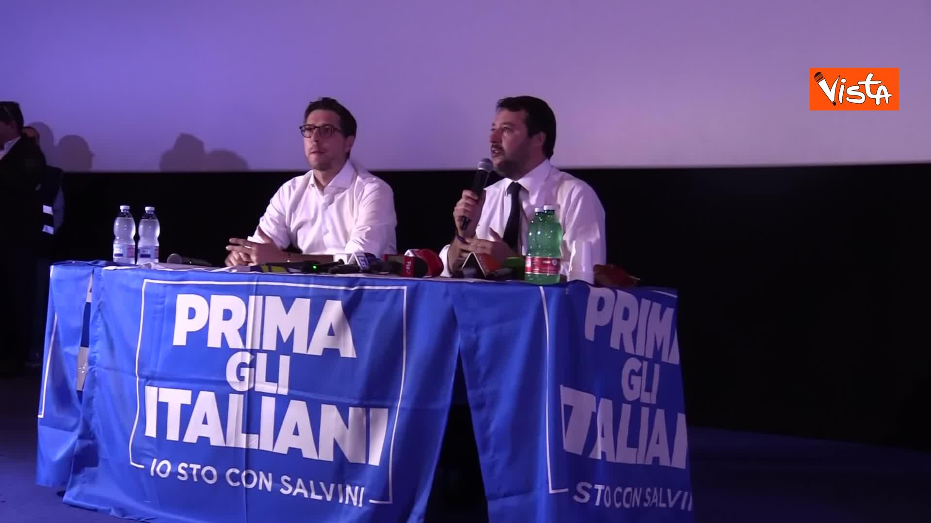 05-11-19 Salvini presenta la campagna elettorale in Campania, le immagini_02