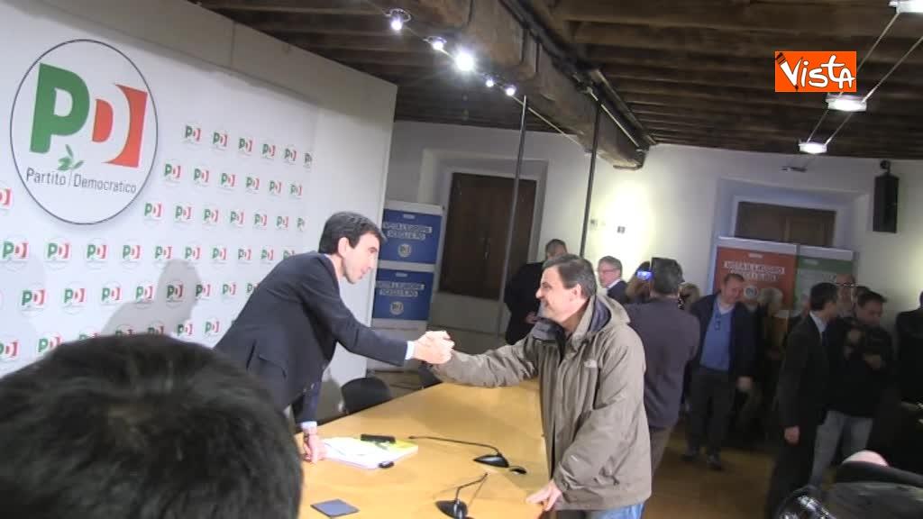17-03-18 Assemblea Pd a Roma con Martina e Calenda