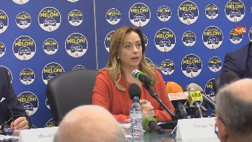 6 - Conferenza stampa Fratelli d'Italia per le elezioni suppletive, le immagini