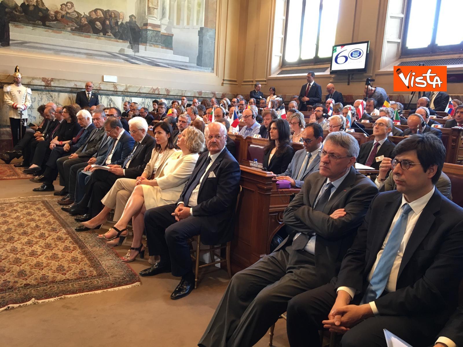 13-06-19 Mattarella a riunione Cnel europei a Roma