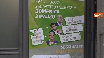 6 - Primarie Pd, il voto di Maurizio Martina a Bergamo