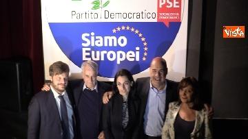 2 - Europee, Zingaretti lancia la campagna elettorale a Milano