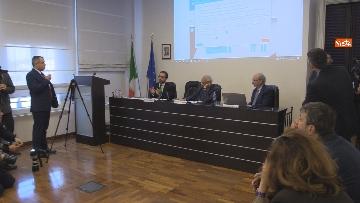 """1 - Bonafede partecipa alla conferenza """"Dove e' finita la corruzione?"""" all'Anac"""