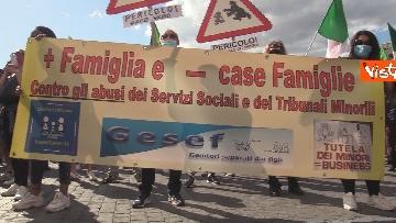 3 - Manifestazione delle Mascherine Tricolore alla Bocca delle Verità a Roma, le foto