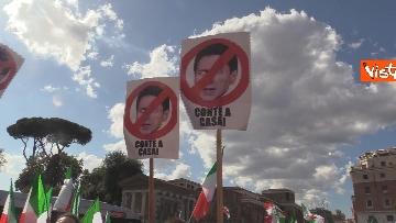 7 - Manifestazione delle Mascherine Tricolore alla Bocca delle Verità a Roma, le foto