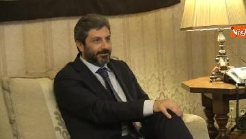 8 - Primo incontro ufficiale tra Fico e Casellati, i Presidenti al Senato