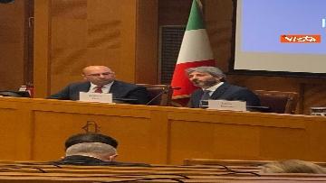 1 - Cerimonia del Ventaglio alla Camera dei deputati con Fico, immagini