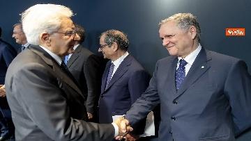 1 - Mattarella all'Assemblea ABI nel centenario della sua costituzione