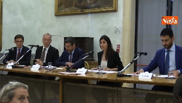 2 - Raggi e Fraccaro alla Presentazione del Global Forum on Direct Democracy