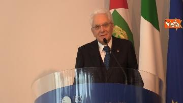 4 - Mattarella alla cerimonia dei 25 anni dell'Istituto di Oncologia dello IEO