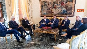 2 - Mattarella accoglie la delegazione del Pd guidata da Zingaretti