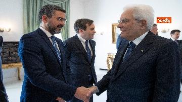 5 - Conte e i ministri a pranzo da Mattarella in vista del Consiglio Europeo