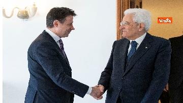 2 - Conte e i ministri a pranzo da Mattarella in vista del Consiglio Europeo
