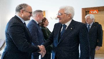 6 - Conte e i ministri a pranzo da Mattarella in vista del Consiglio Europeo