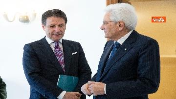 3 - Conte e i ministri a pranzo da Mattarella in vista del Consiglio Europeo