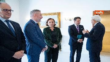 4 - Conte e i ministri a pranzo da Mattarella in vista del Consiglio Europeo
