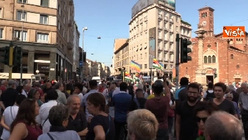 2 - Manifestazione anti Salvini a Milano