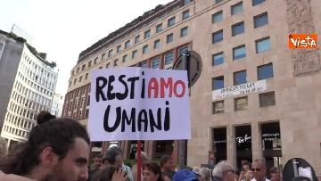 5 - Manifestazione anti Salvini a Milano