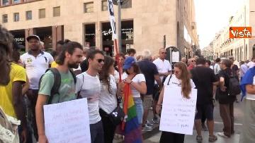 6 - Manifestazione anti Salvini a Milano