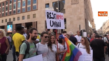 7 - Manifestazione anti Salvini a Milano