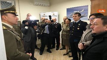 1 - Ministro Trenta con sottosegretario Zoccano  in visita al Centro Veterani