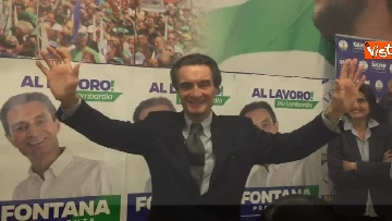 6 - Regionali Lombardia, Fontana il giorno dopo la vittoria