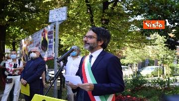 """7 - Borsellino, commemorazione nei giardini a Milano: """"Il fresco profumo di libertà"""", le immagini"""
