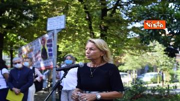 """8 - Borsellino, commemorazione nei giardini a Milano: """"Il fresco profumo di libertà"""", le immagini"""