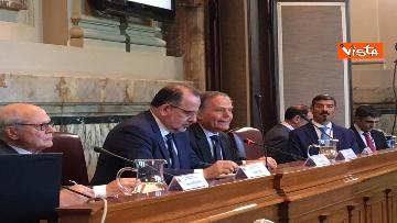 14 - Mattarella a riunione annuale Cnel europei a Roma immagini