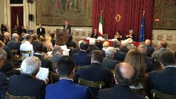10 - Autorità Trasporti, la relazione annuale con Mattarella, Toninelli, Fico Casellati immagini