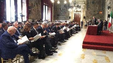 8 - Autorità Trasporti, la relazione annuale con Mattarella, Toninelli, Fico Casellati immagini