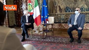 2 - Mattarella riceve delegazione dell'Unione Italiana dei Ciechi e Ipovedenti, le immagini