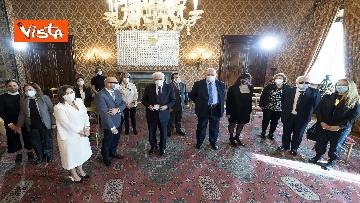 5 - Mattarella riceve delegazione dell'Unione Italiana dei Ciechi e Ipovedenti, le immagini