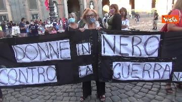 6 - Manifestazione a sostegno delle donne afghane a Napoli, le immagini