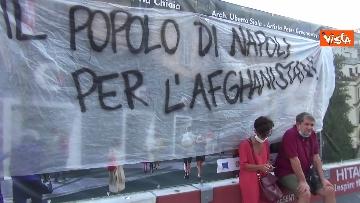 1 - Manifestazione a sostegno delle donne afghane a Napoli, le immagini