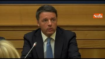 5 - Tragedia Erasmus Spagna, Renzi e Boschi  in conferenza con familiari vittime, immagini