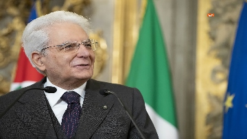 6 - Mattarella consegna gli Attestati d'Onore ai nuovi Alfieri della Repubblica, le immagini